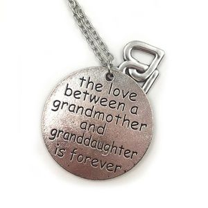 Grandmother Granddaughter Double Heart Necklace